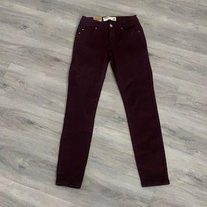 Garage NWT skinny jeans size 01